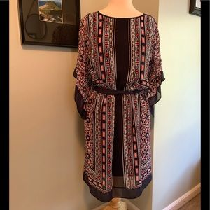 Dress Barn Flutter Sleeve Dress Size 8